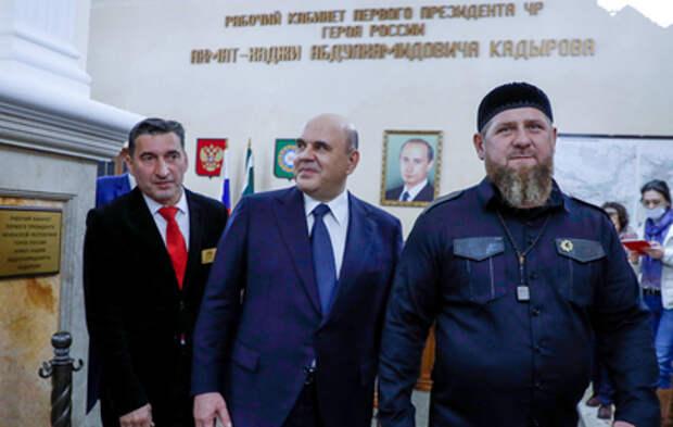 Мишустин посетил Грозненский нефтяной университет