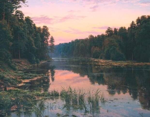 Картины Сергея Басова - отдых для души