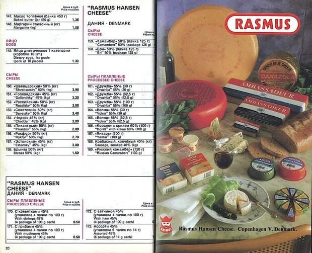 Еда, которой не существовало в СССР.
