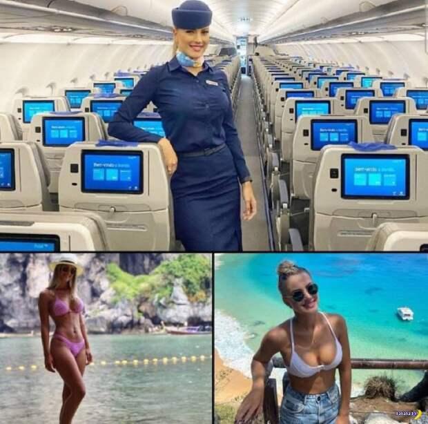 Раздеваем стюардесс! ✈️ - 8