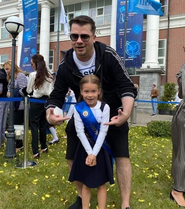 Гарик Харламов с дочкой Анастасией