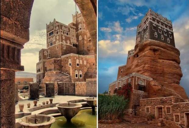 Dar al-Hajar — симпатичная достопримечательность Йемена