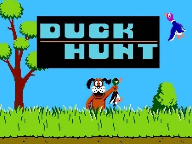 Duck Hunt. 90-е годы, Денди 8 бит, любимые игры
