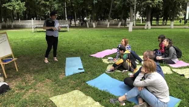 Уроки английского языка будут проходить в парке Талалихина по воскресеньям