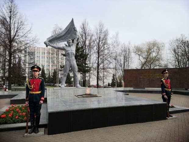 Сквер у Вечного огня в Ижевске отремонтируют к 1 мая