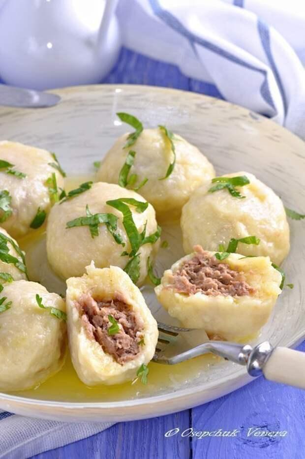 Рецепты по четвергам. Картофельно-сырные ньокки, фаршированные мясом