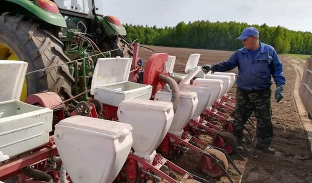 В Удмуртии план по яровому севу выполнен почти на 70%