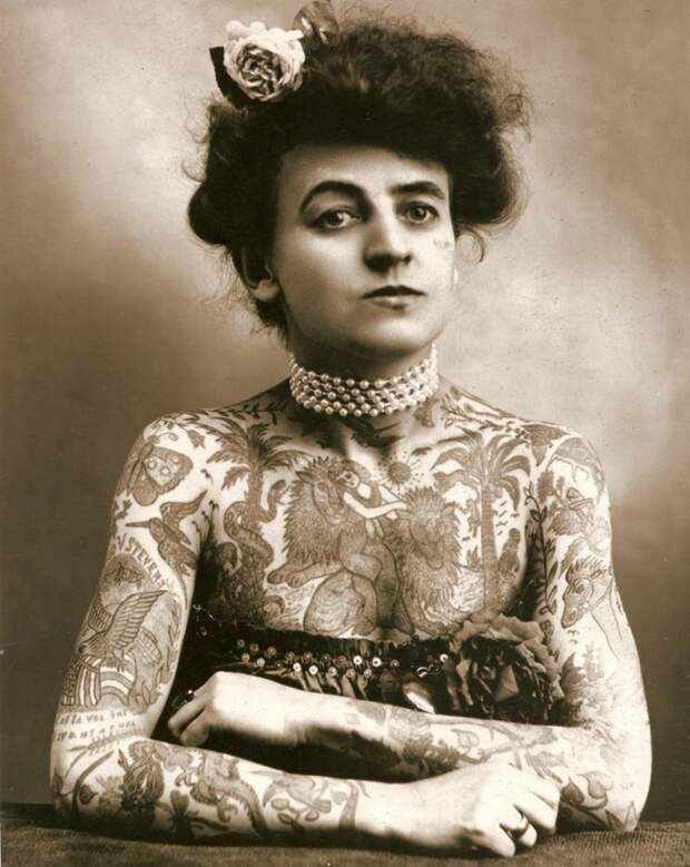 Мод Вагнер – первая женщина мастер тату