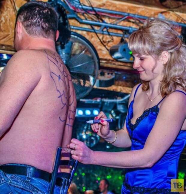 Разнообразная публика ночных клубов России