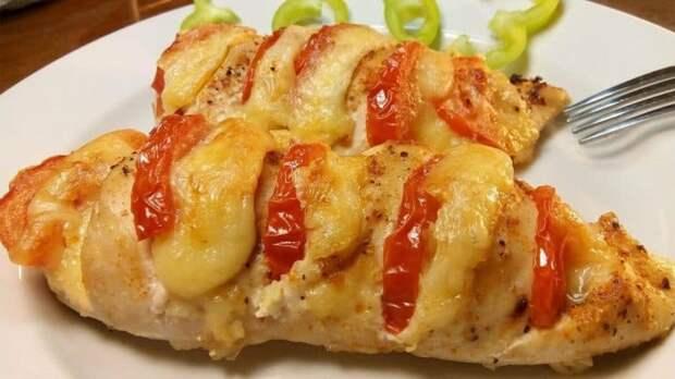Куриное филе с сыром в духовке. Отличный вариант для обеда или ужина 2