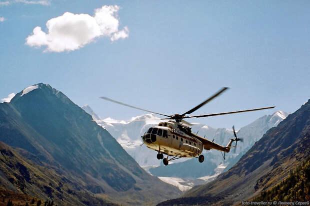 Минобороны: до конца года в Приэльбрусье будут испытаны новые вертолеты