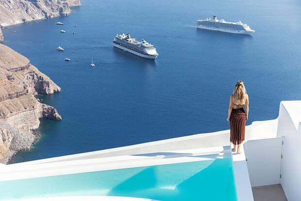 Дом в раю: белоснежная вилла на Санторини