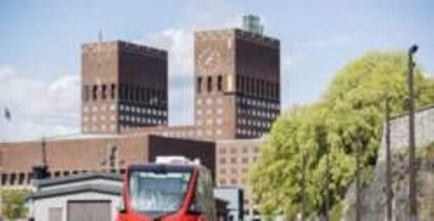 По Осло начали курсировать беспилотные электробусы