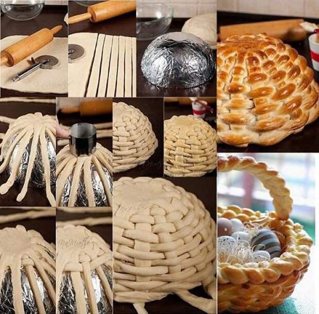 Идеи к пасхе своими руками: корзинка для пасхальных яиц