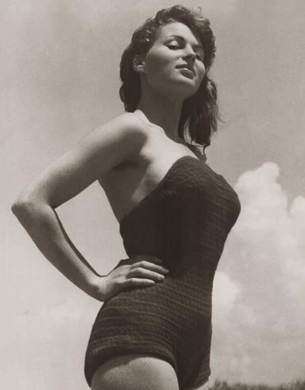 Итальянская актриса Сильвана Мангано