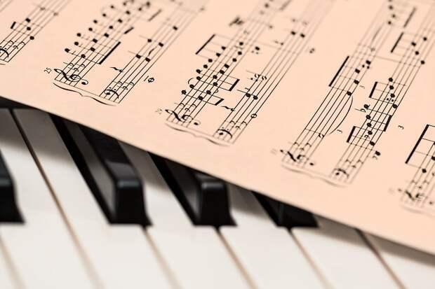 Фортепиано, Ноты, Музыка, Клавиатуры, Клавиши Пианино