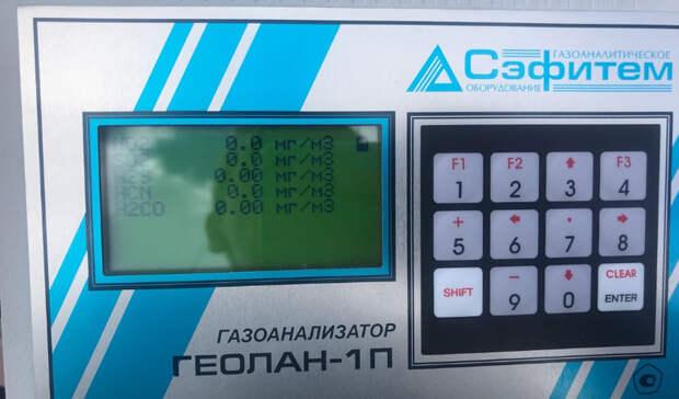 Диоксид серы: замеры воздуха вНижнем Тагиле 27мая