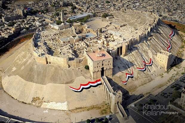 Древнюю Цитадель в Алеппо снова открыли для посещения