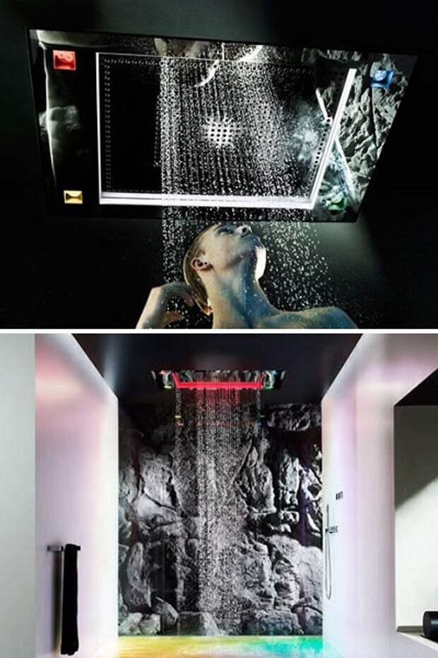 Sensory Sky - душевая обстановка, создающая эффект купания в водопаде или под дождем
