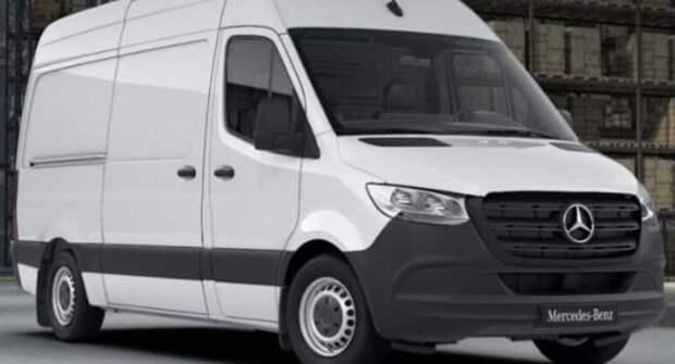 В России из-за проблем с коробкой передач отзывают более 200 фургонов Mercedes-Benz Sprinter