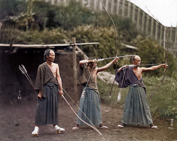 Японское искусство стрельбы из лука, являющееся частью будо.
