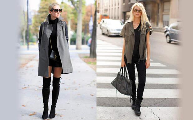 Самые модные сапоги на осень и зиму 2017-2018 года