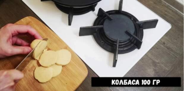 Вкусное и сытное блюдо из кабачков за 10 минут