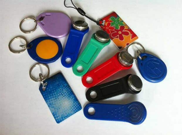 ключи от домофона