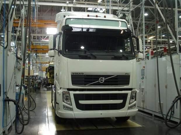 Volvo начала выпуск кабин для грузовиков в Калуге