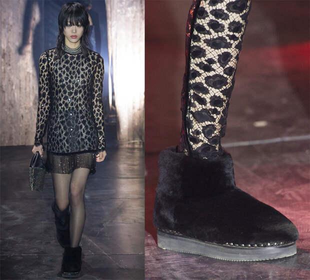 меховая обувь холодного сезона