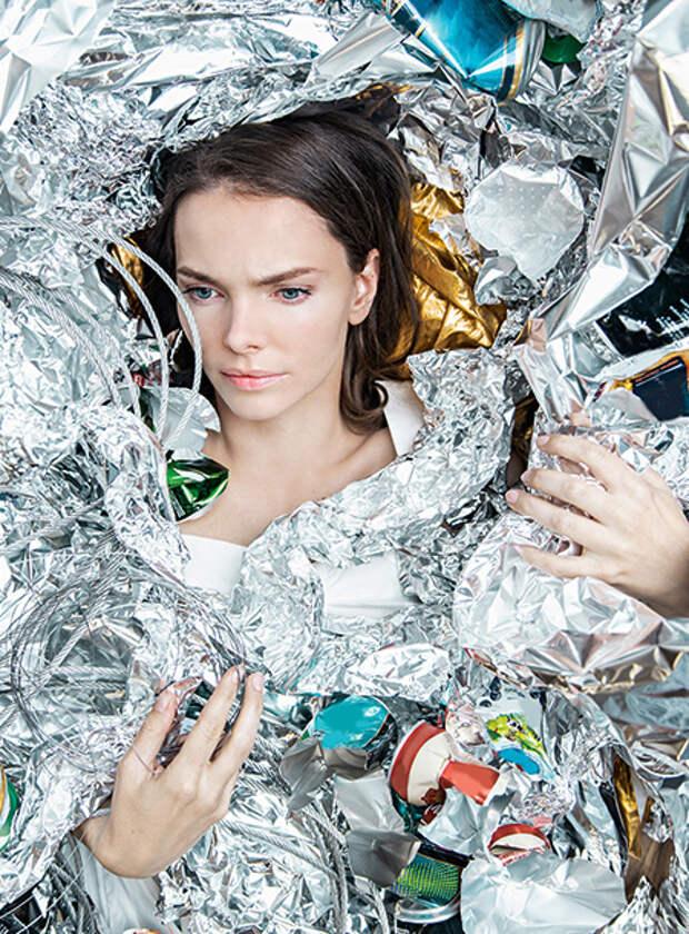 Елизавета Боярская призывает к экологической осознанности