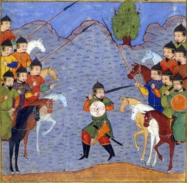 Грузинская книжная легенда о Чингис-Хане