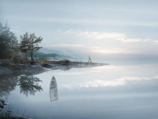Фотограф превращает наш обычный мир в сюрреалистическую сказку