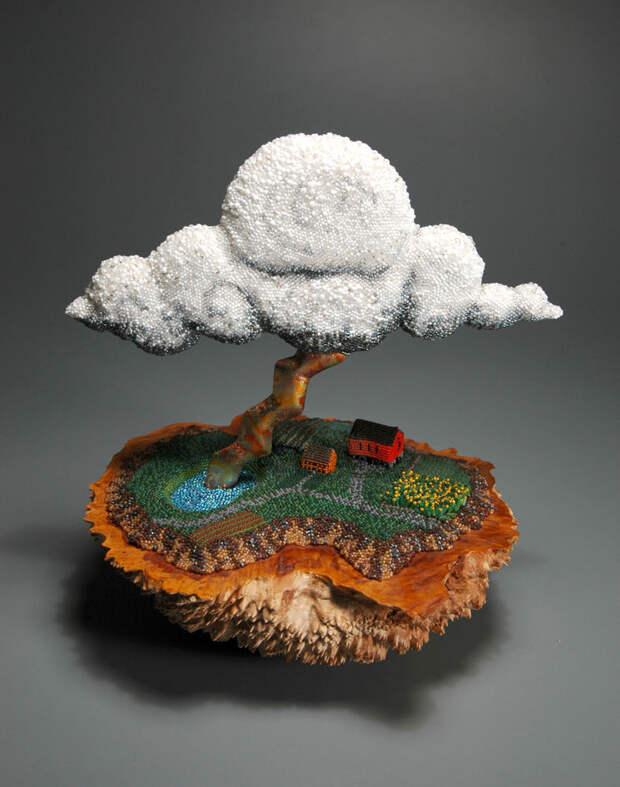 Потрясающие скульптуры из бисера Leslie B. Grigsby