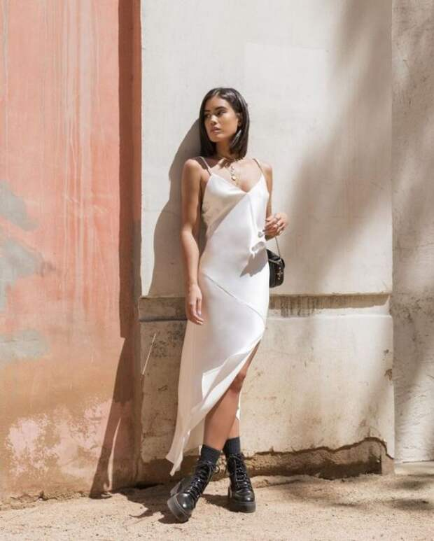 С чем носить блестящую одежду, как сочетать