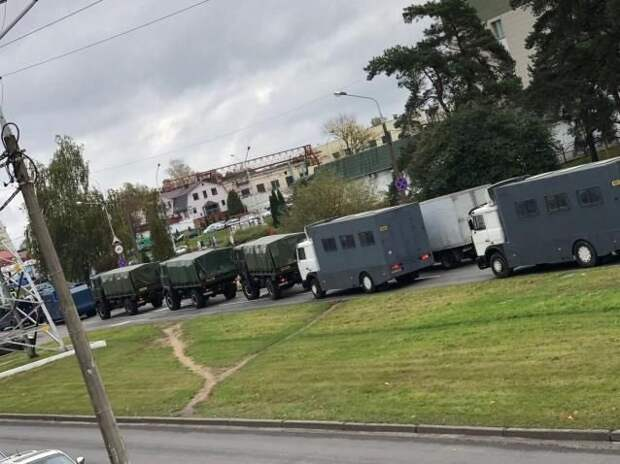 Протесты в Минске. 18.10.2020