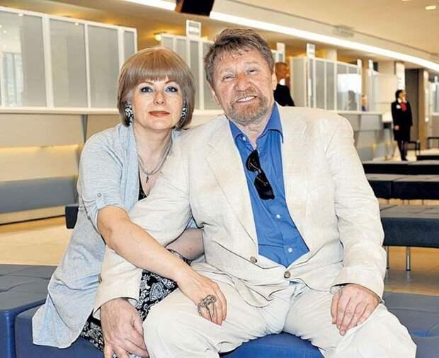 С третьей женой Светланой