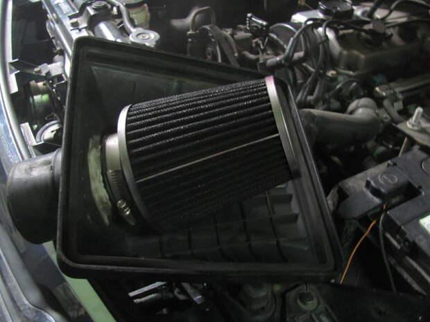 Фильтр нулевого сопротивления установленный в стандартный корпус