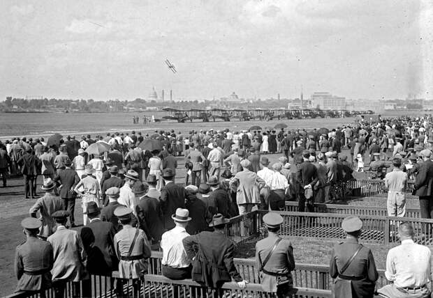 Самолеты и пилоты начала 20-го века на снимках американских фотографов (27)