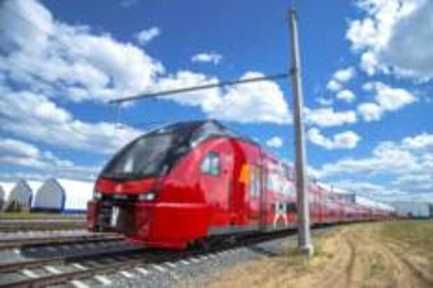 Двухэтажные поезда «Аэроэкспресс» перевезли более 12 миллионов пассажиров