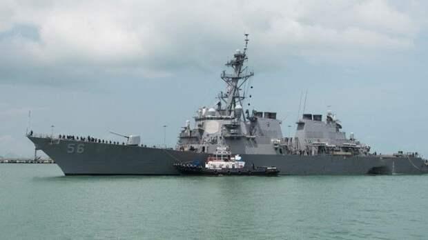 Истинные цели эсминца США, который входил в территориальные воды России