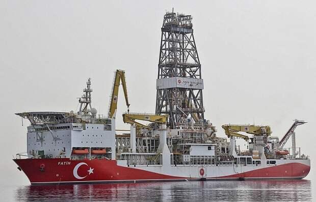 Fatih судно Турция месторождение
