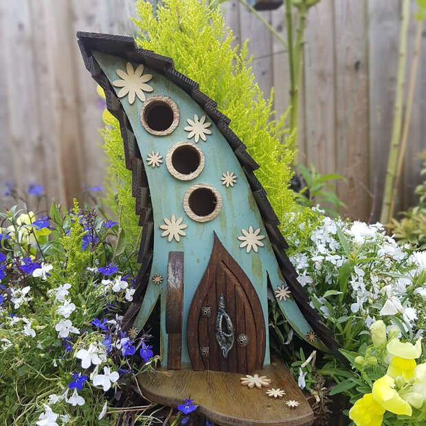 Необычные скворечники для вашего сада: магазин LittleLodgings