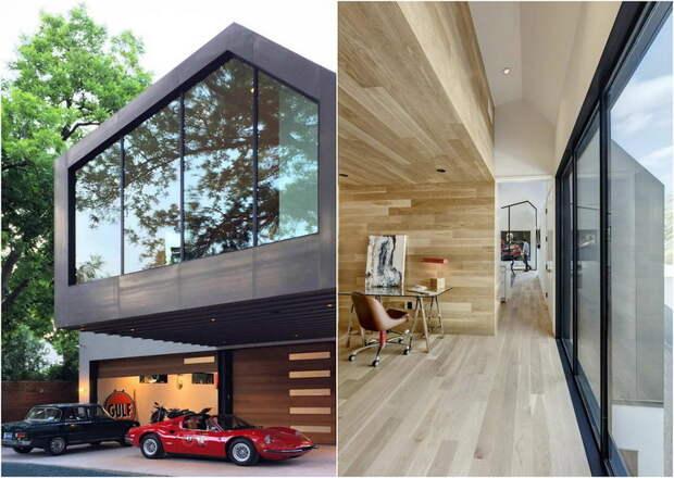 Дом коллекционера автомобилей в США