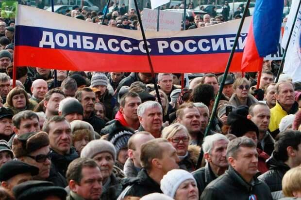 После опроса жителей ДНР и ЛНР стало ясно, что они за присоединение к России