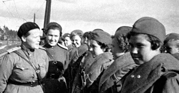 Известные женщины-снайперы в СССР