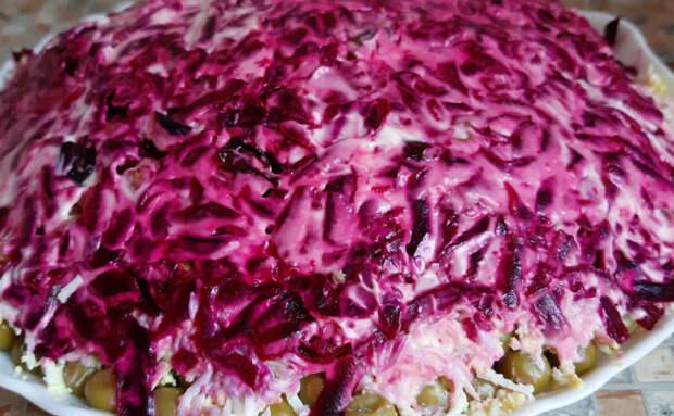 Салат Граф: красивее и вкуснее Оливье