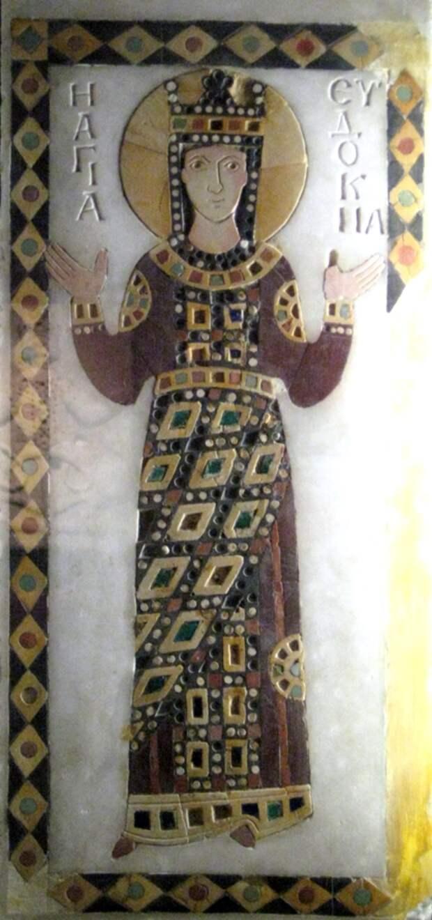 Икона императрицы Евдокии . Источник: wikipedia.org<br>  <br>