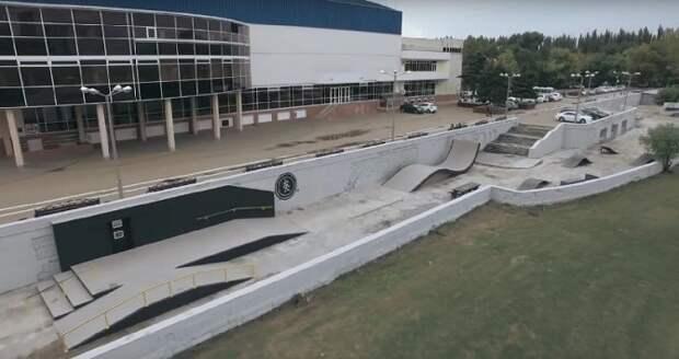 В Краснодаре отремонтируют скейт-парк возле «Олимпа»