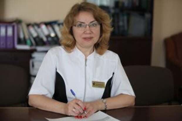 Главный врач детской поликлиники № 150 Ирина Ключникова/Алексей Белкин, ЮВК